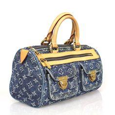 Louis Vuitton Denim Speedy