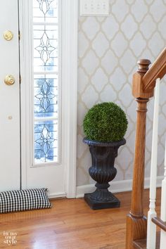 Foyer Decorating Ideas by In My Own Style