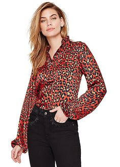1912fc177a1a Heine Leopard Print Fitted Blazer in 2019 | Coats and Jackets ...
