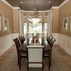 Wainscot Dining Room Design, Pictures, Remodel, Decor and Ideas