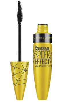 Those of you who dig clumpy lashes will love Maybelline's Colossal Spider Effect mascara. The unique brush combs through lashes and deposits hefty amounts of product, which immediately beefs up limp hairs.Maybelline The Colossal Spider Effect Mascara, $6.99, available at Ulta Beauty. #refinery29 http://www.refinery29.com/best-drugstore-mascara#slide-15