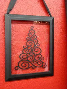 cricut projects with vinyl | ... Frames , Christmas Decor , Cricut Christmas Tree , Vinyl Projects
