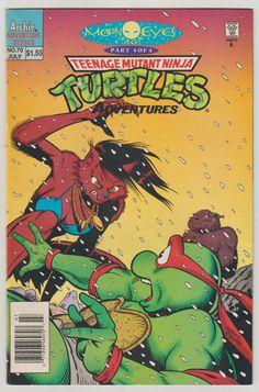 Teenage Mutant Ninja Turtles (TMNT) Adventures; Vol 1, 70, Modern Age Comic Book. VF- (7.5). July 1995. Archie Comic Publications #tmnt #archiecomics #comicsforsale