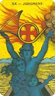August 6 Tarot Card: Judgment (Morgan-Greer deck) When one door closes, another door opens. Opportunities lie ahead -- listen to your personal feelings, hopes and concerns as you decide your next steps