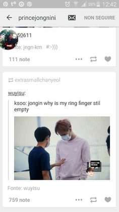 "Kyungsoo giving ""subtle"" hints to his Kai about their future."