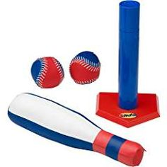 Product Description The Fun Years Imagine Me T-Ball Set helps teach little ones the basics of baseball. Features 1 soft bat, 2 balls and adjustable tee. 1st Birthday Presents, 2nd Birthday, Birthday Ideas, Outdoor Play, Outdoor Decor, Help Teaching, All Toys, Kids Store, Learning Games