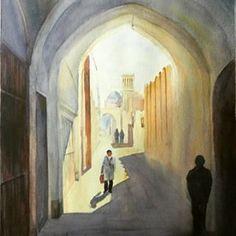 watercolor imam - Google Search