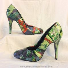 6da426e81d8 Poison Ivy MadetoOrder Comic Book Heels