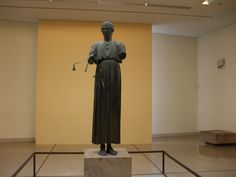 The Unknown Charioteer  Athens Museum