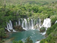 Waterfall Kravice, Bosnia