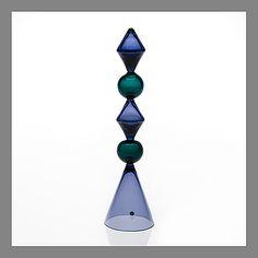 "NANNY STILL - Glass sculpture ""Juhannussalko"" (Maypole) designed in 1958 for Riihimäen Lasi Oy, Finland. Glass Design, Design Art, Be Still, Modern Contemporary, Glass Art, Retro Vintage, Art Gallery, Sculptures, Arts And Crafts"