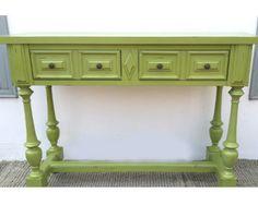 קונסולה ירוקה מרשימה | ליד הצריף רהיטים וחפצים | מרמלדה מרקט