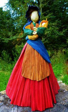 Corn Husk Doll by WhiteStoneStudio on Etsy, $40.00