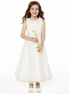 Freya Ivory Lace Dress - child dresses - young bridesmaids - Wedding