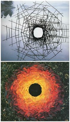 Nature Art: 13 Amazing Environmental Installation Artists · Craftwhack - Andy Goldsworthy- land art installations – a roundup of nature installation artists on Craftwhack - Land Art, Andy Goldsworthy Art, Art Et Nature, Nature Artists, Art Environnemental, Toledo Museum Of Art, Instalation Art, Artistic Installation, Light Installation