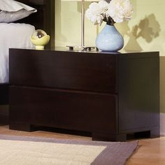 Home Image Madrid 2 Drawer Nightstand..We can add hardware