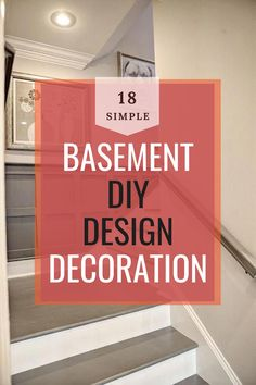Basement Decor ! Tips For Styling Your Dream Basement #basement #basementdecor Diy Design, Design Ideas, Basement Decorating, Decor Ideas, Elegant, Decoration, Amazing, Unique, Pretty