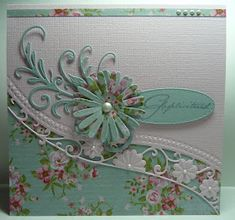 Hallo allemaal... Met deze 3 mallen hoop ik morgen de demo te kunnen doen...LR051... Marianne Design Cards, Tattered Lace Cards, Birthday Cards For Women, Mothers Day Cards, Pretty Cards, Card Sketches, Scrapbooking, Cool Cards, Creative Cards