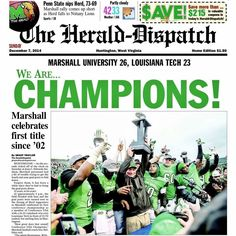 HD front page the day after. Love my Herd!!