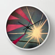Ocean+sun+Wall+Clock+by+roxyprofiji2+-+$30.00