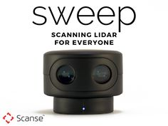 Sweep is a scanning LiDAR sensor designed to bring powerful 360 degree sensing capabilities to everyone for an affordable price.
