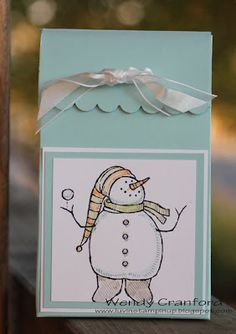 Luvin Stampin Up: Snow Much Fun Box w/ Simply Scored Tool