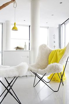Cuero! Swedish manufactured Butterfly Chair. I sell in different materials - mostly in heavily leather or natural hemp . http://www.123minsida.se/Fladdermusen-BKF-Butterfly/77141123