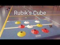 Rubiks Kubus in de gymles! Een leuk spel van De Spelles