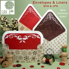 Envelopes and liners (A2, 5 x 7, and 4 x 8)
