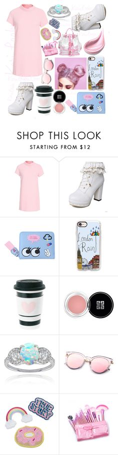 """Pink Tumblr"" by karilooks ❤ liked on Polyvore featuring Glamorous, Casetify, Givenchy and Glitzy Rocks"