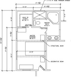Master Suite Addition Would Just Need To Also Add Laundry - Master bedroom and bathroom floor plans