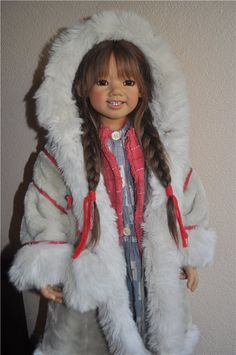 Khimki come into the house / Collectible Doll Annette Himstedt / Beybiki. Photo Dolls. Clothes for dolls