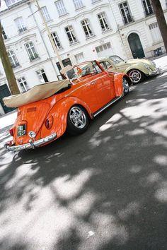 volkswagen 27 by rallyecentre on DeviantArt Voltswagon Van, Van Vw, Volkswagen Convertible, Beetle Convertible, Auto Volkswagen, Vw T1, My Dream Car, Dream Cars, Cabrio Vw