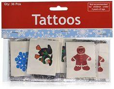 6bcbbaca4 72 Christmas Holiday Glitter Temporar… gagtoysy · Temporary Tattoos
