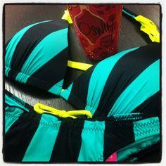 Love Starbucks Holiday Cups and Bikinis. #bswim