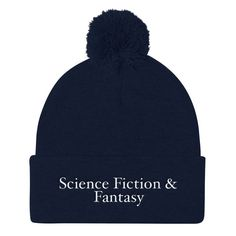991661107281d Science Fiction   Fantasy Pom Pom Knit Cap
