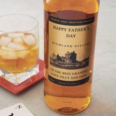 Personalised Speyside Single Malt Whisky from notonthehighstreet.com