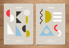 Dutchscot has created the identity for new south London creative space The Old School Club, using multiple shapes and colours to form designs that represent the building itself.