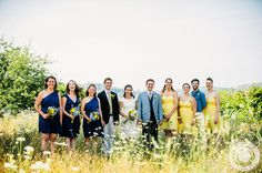 Becky & Grae on Simply Blue Weddings - Kendra Stanley-Mills Photography