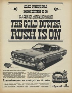 Chrysler Plymouth Gold Duster