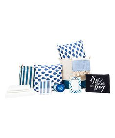 Look at this #zulilyfind! Indigo Reflect Queen Boxed Room Set #zulilyfinds