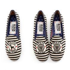 Lonely shoes X STEVE J & YONI P black stripe (GATH311_39)