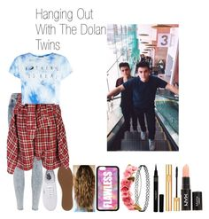 """""""Hanging Out The Dolan Twins :)"""" by fashionexpert22smilex ❤ liked on Polyvore featuring Napoleon Perdis, Yves Saint Laurent, Topshop, Charlotte Russe, River Island, Vans, Forever 21, Dolan, R13 and cute"""