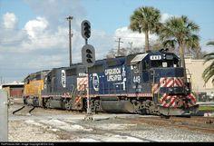RailPictures.Net Photo: FEC 449 Florida East Coast Railroad (FEC) EMD GP40-2 at Jacksonville, Florida by Eric Daly