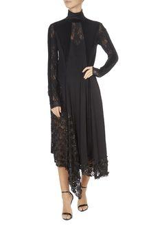 'Elitist' High-Neck Black Sequin Dress | Jessimara Black Sequin Dress, Black Sequins, Turtleneck Style, Split Skirt, Tube Skirt, Stretch Lace, Cold Shoulder Dress, High Neck Dress, Plain Black