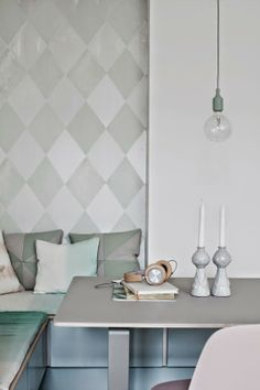my scandinavian home: A Danish kitchen in pretty pastels Interior Pastel, Interior Styling, Interior Decorating, Interior Design, Deco Pastel, Pastel Decor, Bleu Pastel, Scandi Living, Home And Living