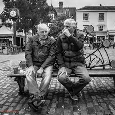 Benched 2 - Hitchin street candids Candid, Bench, Winter Jackets, Street, Table, Couch, Crib Bench
