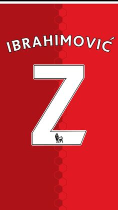 Zlatan Ibrahimovic of Man Utd wallpaper.