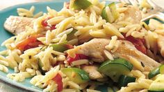 Weave the magic of the Mediterranean's by pairing tender chicken with herbs and orzo in this 30-minute dinner recipe, made using Progresso® chicken broth.