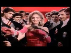 Madonna and 1985's 'Material Girl' video parodying Marilyn in 'Diamonds are a girl's best friend'